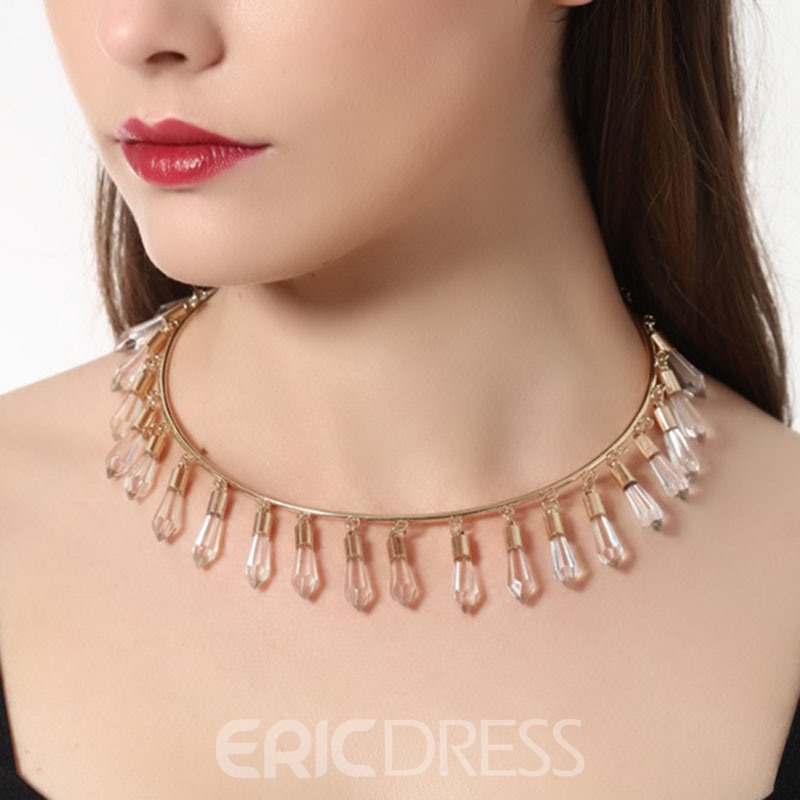 Ericdress Pretty Little Pendant Decorated Alloy Necklace