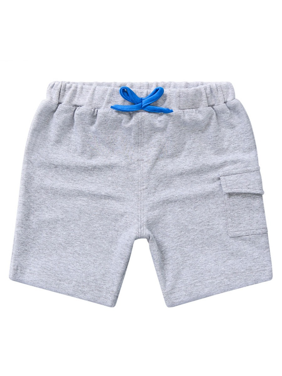 Ericdress Pocket Elastics Casual Boys Shorts