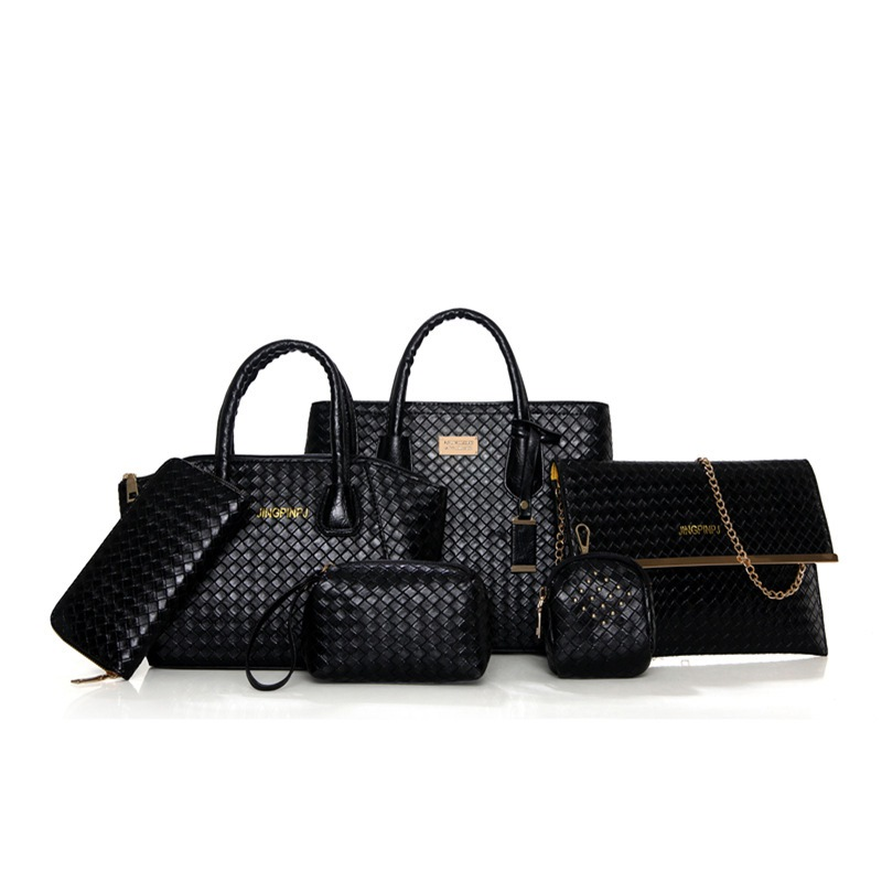 Ericdress Charming Woven Embossing Handbags(6 Bags)