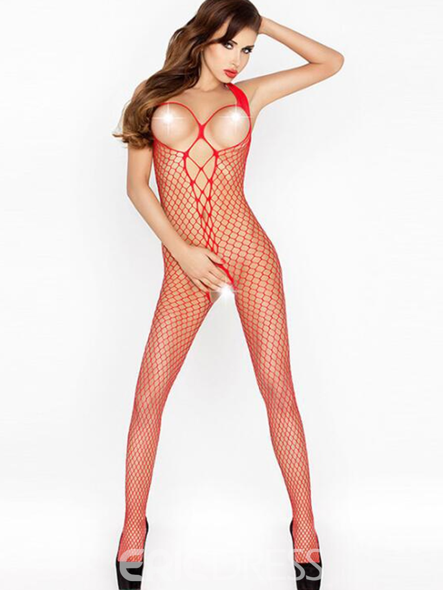 Ericdress Sexy Halter Fishnet Body Stocking