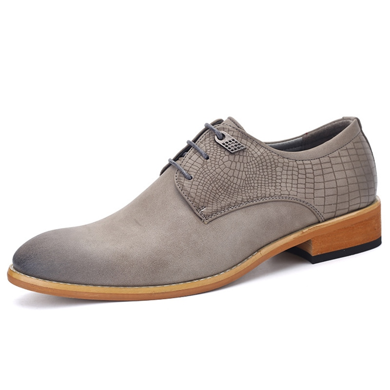 Ericdress Business Brush Off Point Toe Men's Oxfords