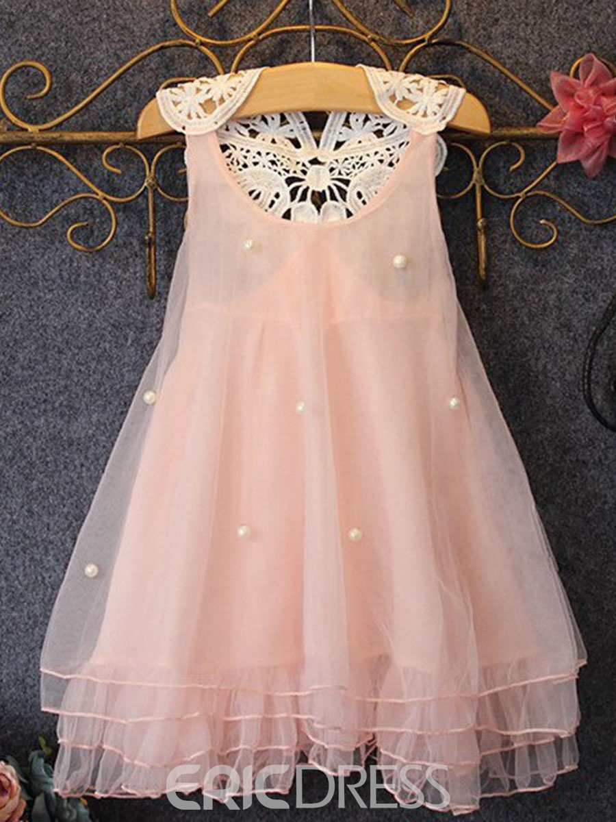 Ericdress Beads Lace Ball Gown Dress