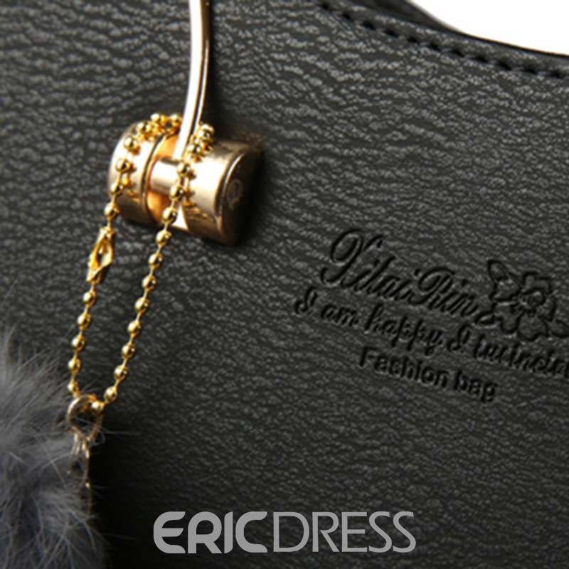 Ericdress Stereo Retro Thread Decorated Handbag