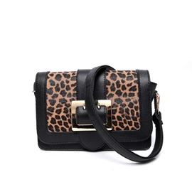 Ericdress Lastest Leopard Pattern Magnetic Snap Crossbody Bag