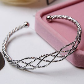 Ericdress Alloy Braided Mesh European Style Bracelet