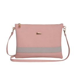 Ericdress Trendy Color Block Patchwork Shoulder Bag