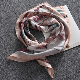 Ericdress New Style Silk Printed Women's Square Scarf