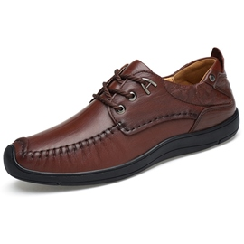 Ericdress All Match Business Lace up Men's Oxfords