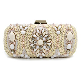 Ericdress Noble Rhinestone Banquet Evening Clutch