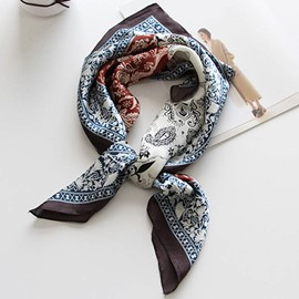 Ericdress Artistic Paisley Printed All-Matched Square Scarf