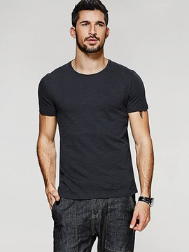 Ericdress Quality Cotton Blends Slim Men's T-Shirt