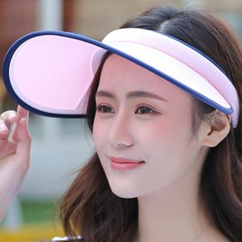 Ericdress Visor Crown Design Outdoors Wide Brim Sun Hat