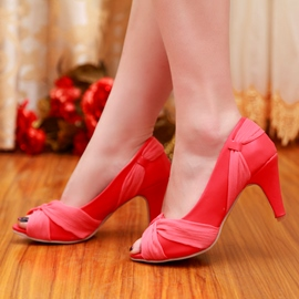 Ericdress Lovely Peep Toe Stiletto Sandals