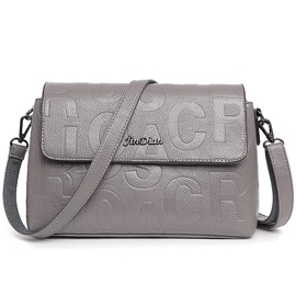 Ericdress Brief Letter Embossed Shoulder Bag