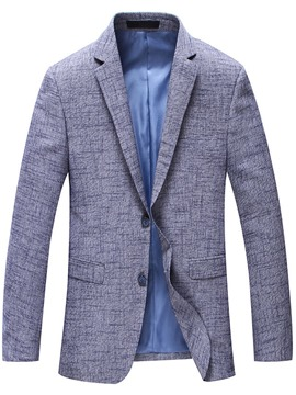 Ericdress Plain Slim Quality Gentlemen's Blazer