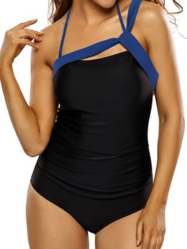 Ericdress Vogue Black Halter Monokini