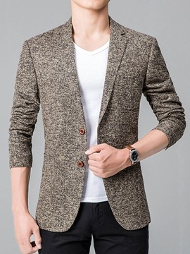 Ericdress Single-Breasted Quality Vogue Slim Men's Blazer