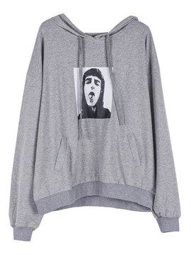 Ericdress Humor Graphic Oversized Cool Hoodie