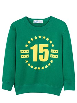 ericdress letter number imprimé loose casual boys outerwear