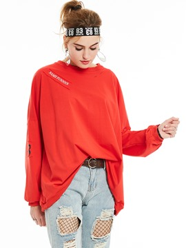 Ericdress Loose Oversized BF Style T-Shirt