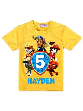 Ericdress Cartoon Summer Polyester Boys T-Shirt