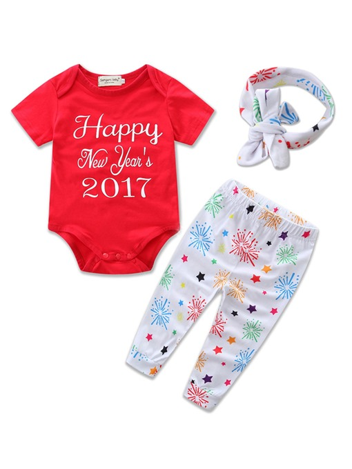 Ericdress 2-Pcs Suit With Topknot Infant Outfit