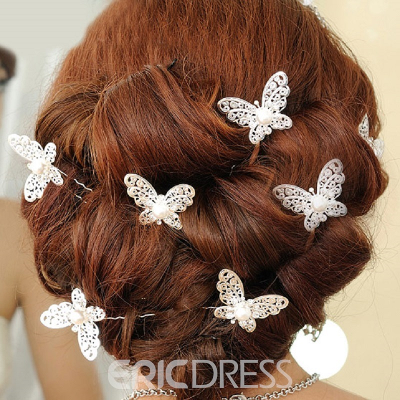 Nice Hollow-out Butterfly Hair Accessory