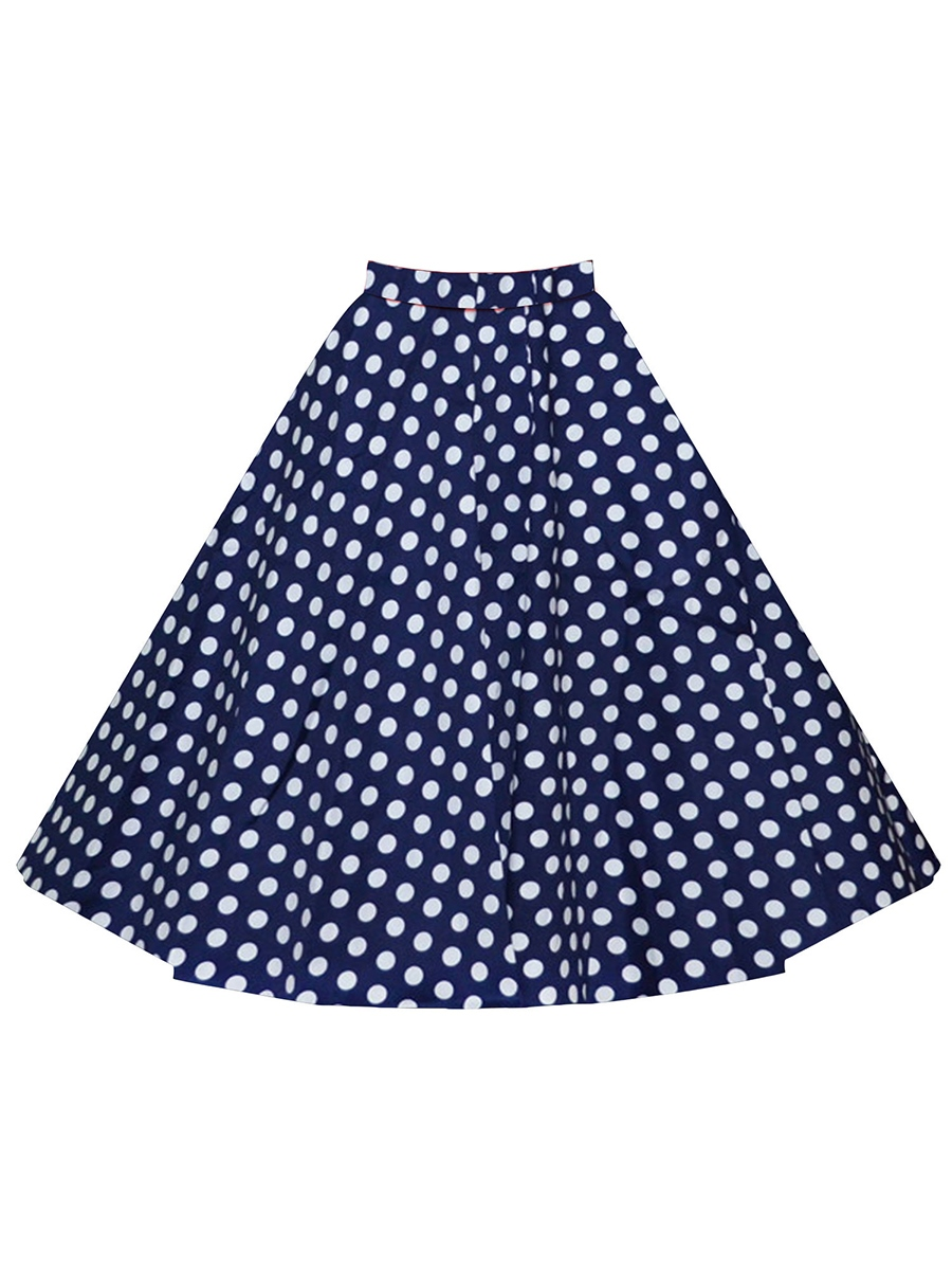 Ericdress High Waisted Flower Print Women's Skirts