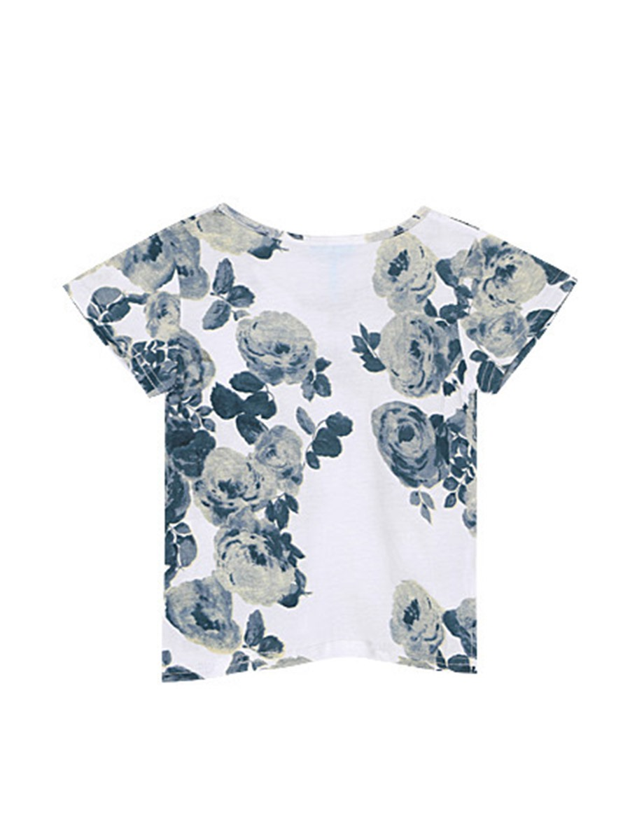 Ericdress Floral Pocket Summer Boys T-Shirt