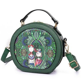 Ericdress Forest Series Elves Design Cylinder Type Handbag