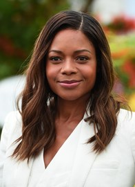 Ericdress Naomie Harris Blunt Cut Ombred Root Dark Medium Wave Human Hair Lace Front Cap Wigs 16 Inches