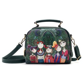 Ericdress Forest Beauty Elves Series Printing Handbag