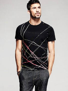 Ericdress Short Sleeve Unique Vogue Men's T-Shirt