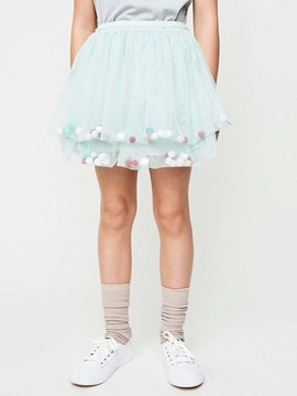 Ericdress Mesh Sweet Ball Gown Mini Skirt