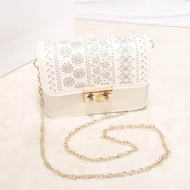 Ericdress Contracted Hollow Out Chain Crossbody Bag