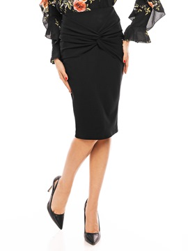 Ericdress Bodycon Pleated Women's Skirt