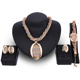 Ericdress Luxurious Alloy Jewelry Set