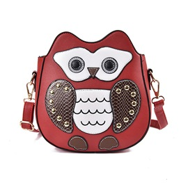 Ericdress Novelty Cartoon Owl Crossbody Bag