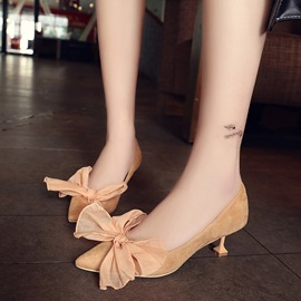Ericdress Sweet Bowknot Point Toe Pumps