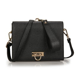 Ericdress Elegant Mini Box Type PU Crossbody Bag