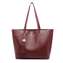 Ericdress Newest Wood Bead Tassel Crossbody Bag