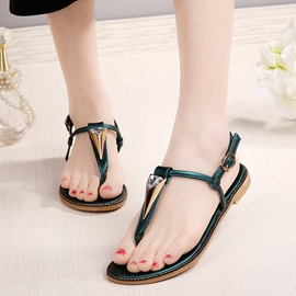 Ericdress Lovely Clip Toe Flat Sandals