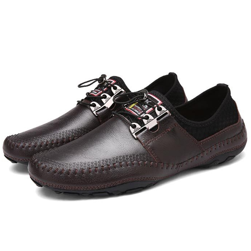 Ericdress Trendy Solid Color Handmade Men's Oxfords