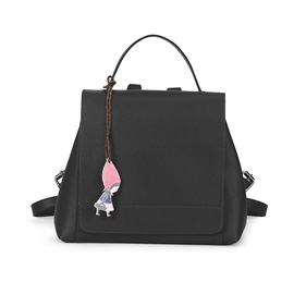 Ericdress Retro Solid Color Thread Decorated Backpack