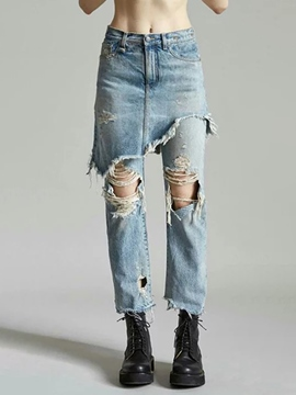 High Waisted Jeans Cheap -EricDress.com