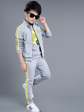 Ericdress Vogue Spring 3-Pcs Boys Sports Suit