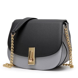 Ericdress Stylish Color Block Thread Decorated Crossbody Bag