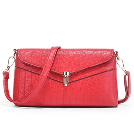 Ericdress Geometric Stripe Latch Envelope Crossbody Bag