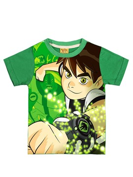 Ericdress Cartoon Boy Printing Short Sleeve Boys T-Shirt