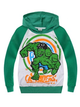 Ericdress The Hulk Printing Casual Boys Hoodie